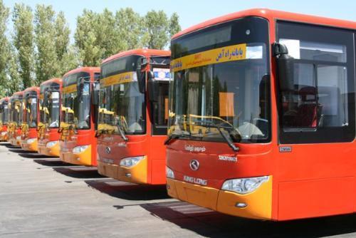 ناوگان اتوبوسرانی تبریز با رعایت دستورالعملهای بهداشتی فعالیت میکند