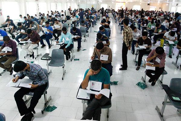 کنکور ارشد ۹۹ در دانشگاه تبریز برگزار شد/ رقابت بیش از ۳۰ هزار داوطلب در آذربایجان شرقی