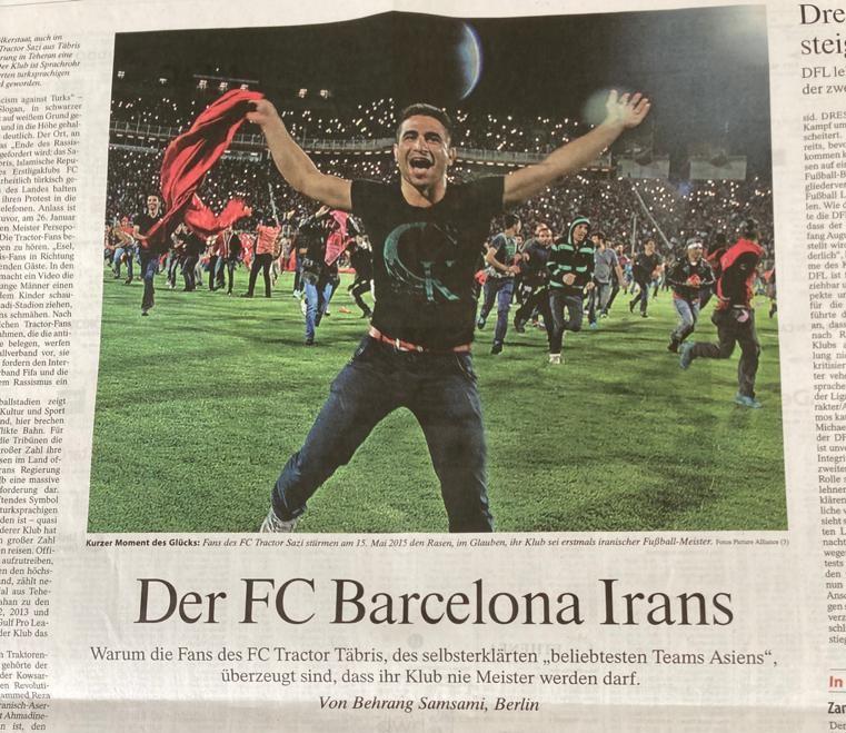 تراکتور، بارسلونای ایران است + عکس
