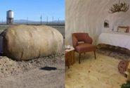 هتلی شگفتانگیز به شکل سیبزمینی/ تصاویر